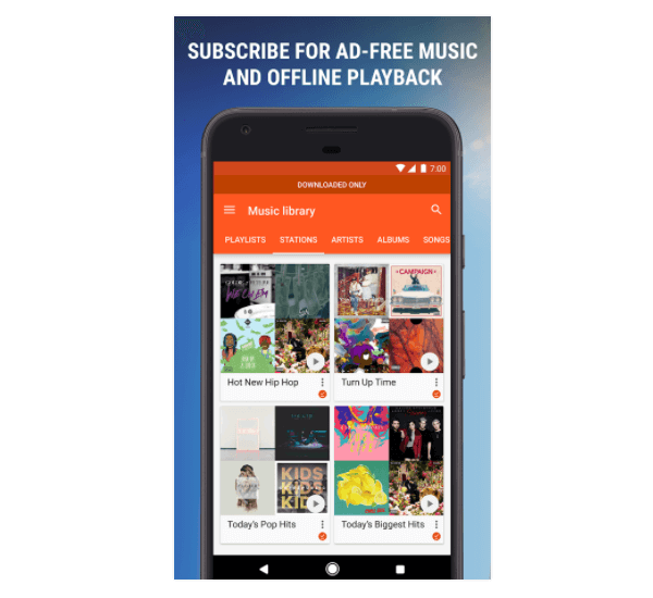 Google Play Music Download Apk for Android