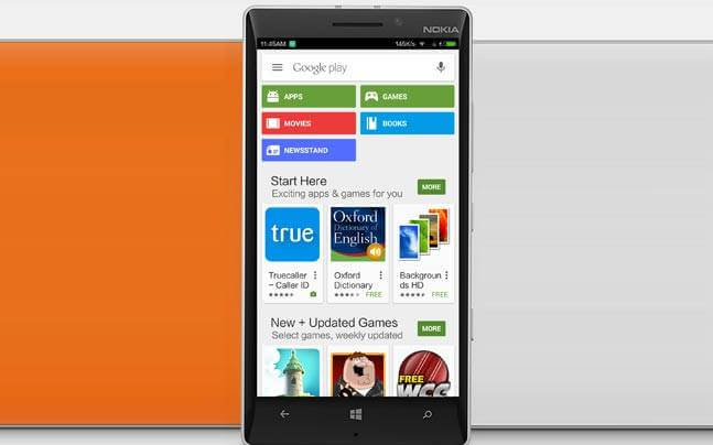 Google Play Store Download for Windows Phone