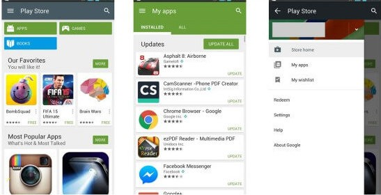 Google Play Store for Samsung