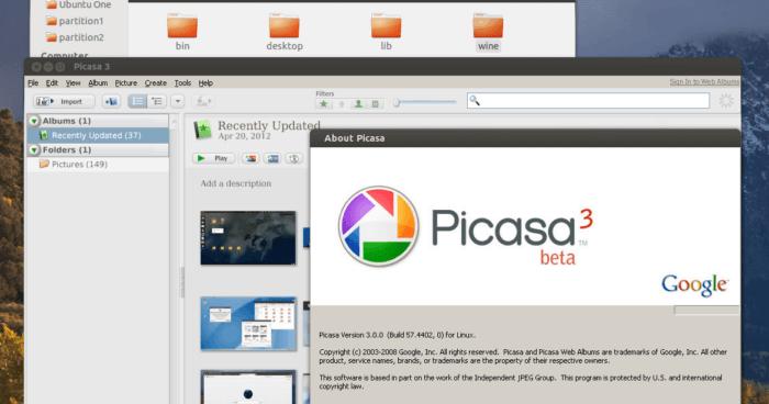 Google Picasa for PC