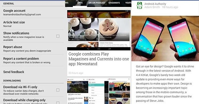 Google Newsstand for PC