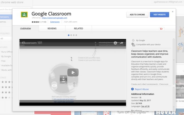 Google Classroom for PC