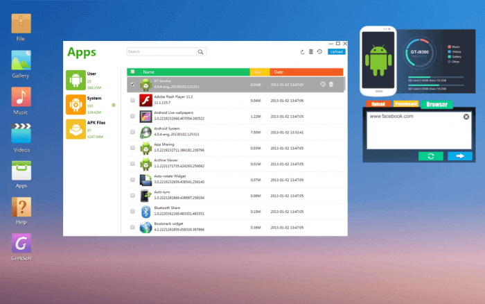 Google Play Store for PC Using Andyroid