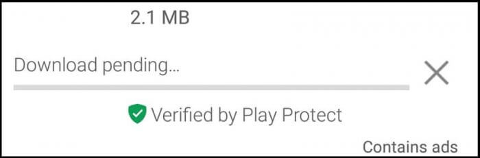 Download Pending Play Store